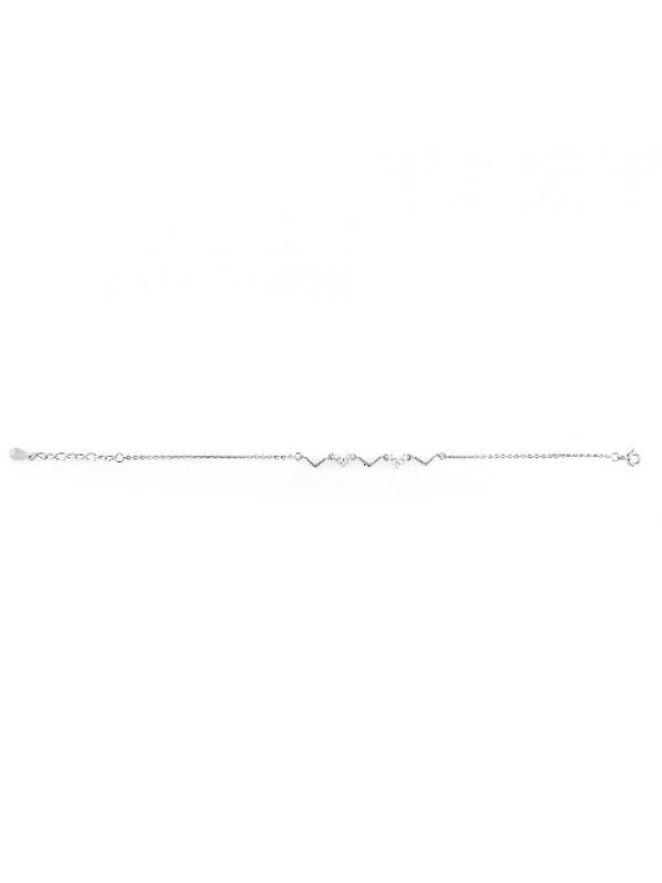 Сребърна гривна 143