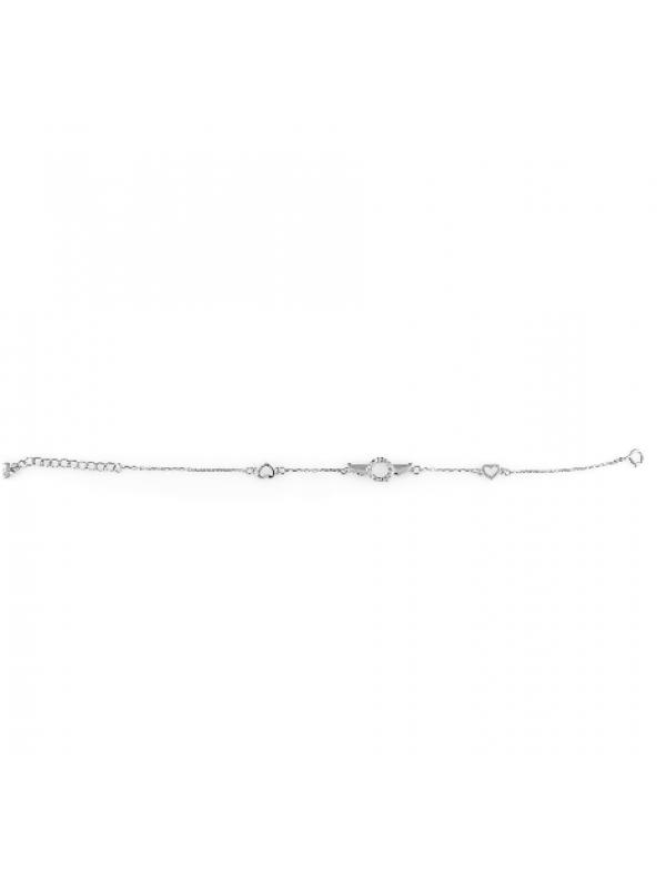 Сребърна гривна Крилца 144