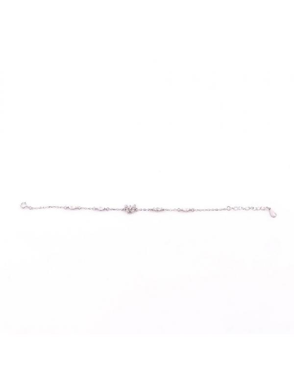 Сребърна гривна Пеперудка 182