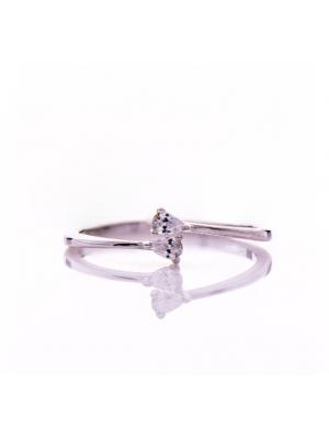 Сребърен пръстен Капчици
