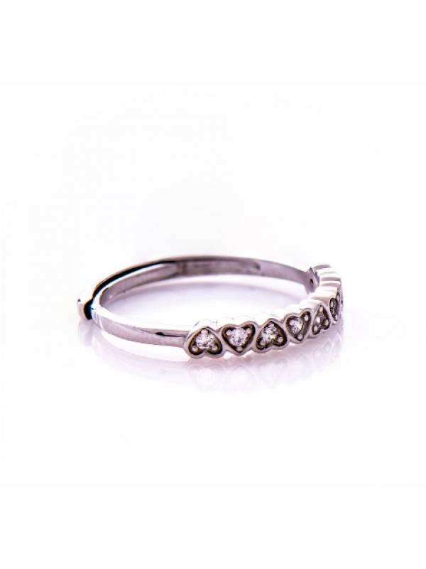 Сребърен пръстен Сърчица