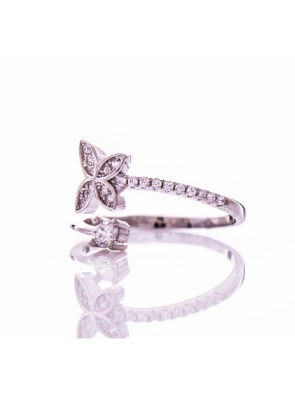 Сребърен пръстен Пеперуда
