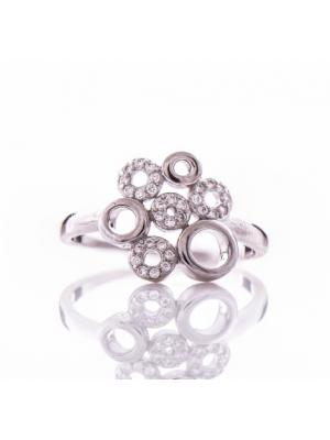 Сребърен пръстен Кръгчета