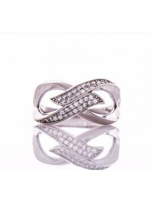 Сребърен пръстен Безкрайност