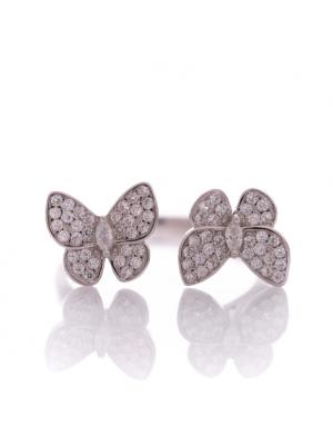Сребърен пръстен Пеперудки