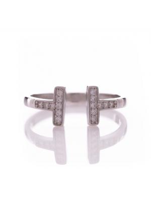 Изящен сребърен пръстен