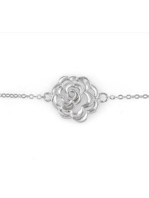 Сребърна гривна Цветенце 167
