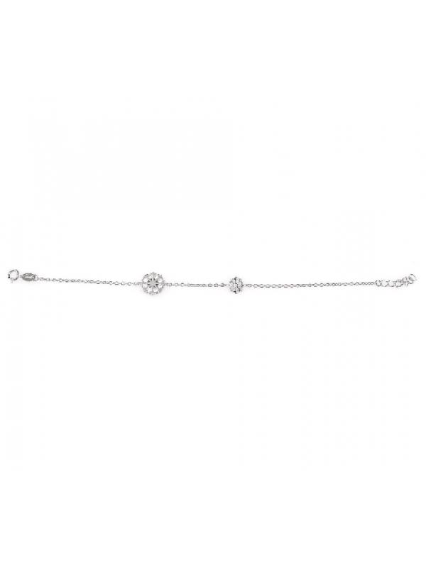 Сребърна гривна Снежинка 170