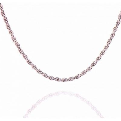 Сребърен синджир тип Корабно въже