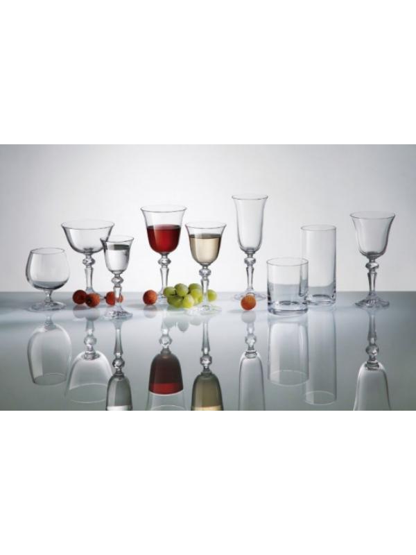 Чаши за червено вино Bohemia Crystalite Лаура 220мл