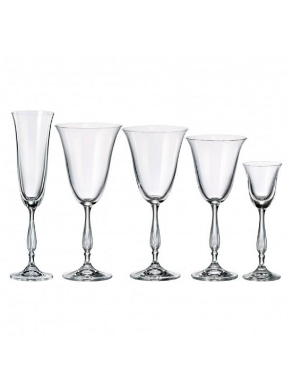 Чаши за шампанско Bohemia Crystalite Антик 190мл