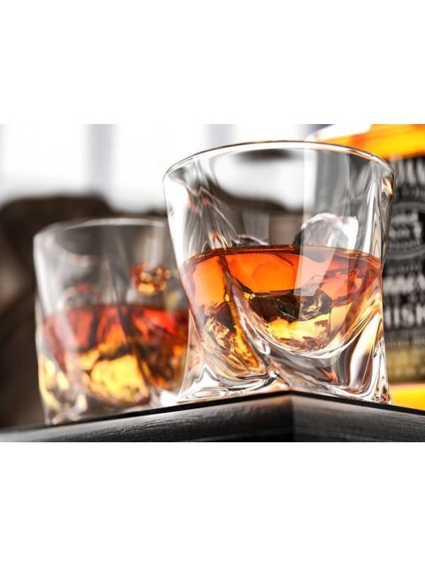Чаши за уиски Bohemia Crystalite Куадро 340мл
