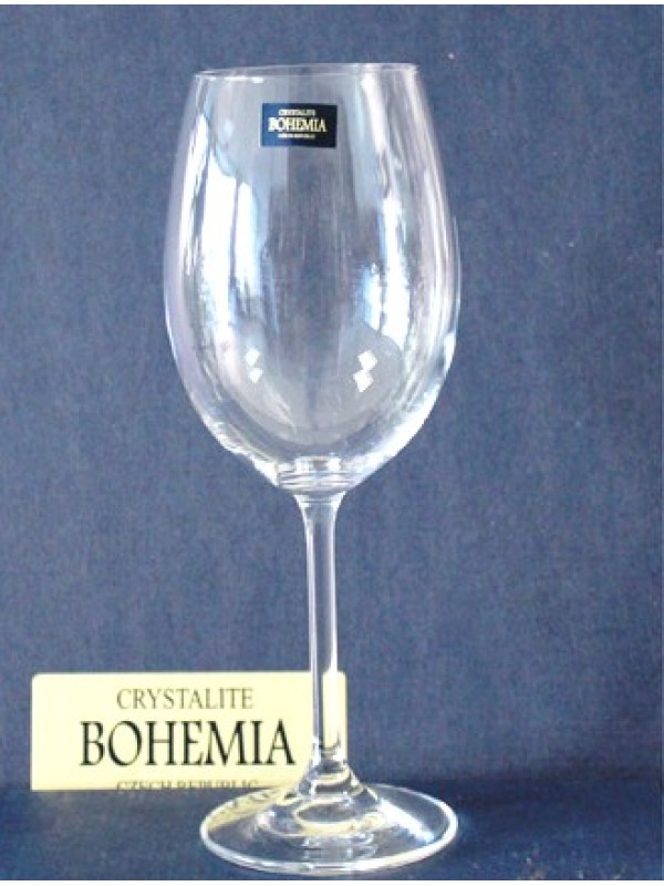 Чаши за червено вино Bohemia Crystalite Клара 350мл