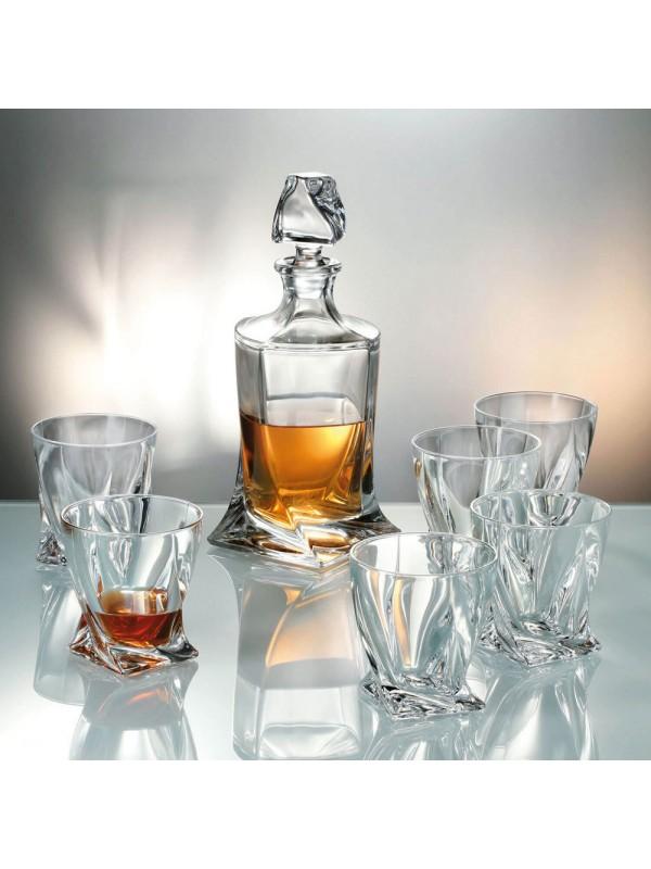 Гарафа за алкохол Bohemia Crystalite Куадро 850мл