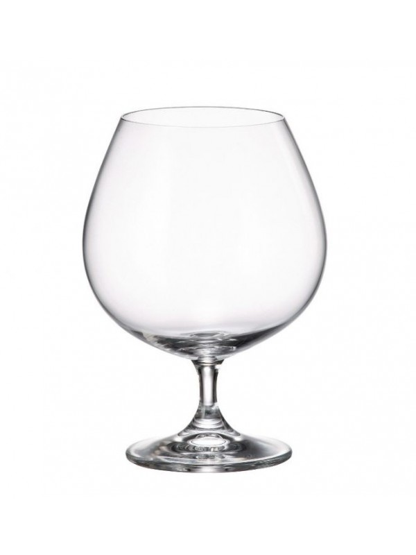 Чаши за коняк Bohemia Crystalite Гастро 690мл