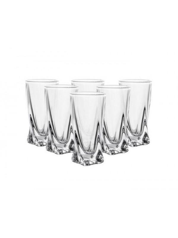 Чаши за вода Bohemia Crystalite Куадро 350мл