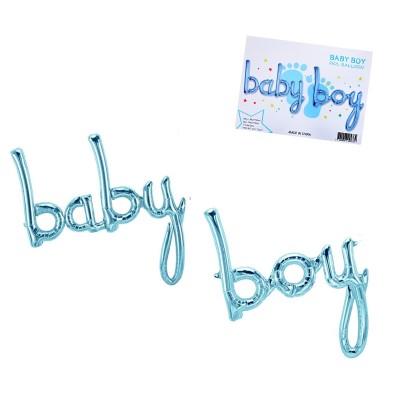 "Балони надпис ""Baby Boy"""