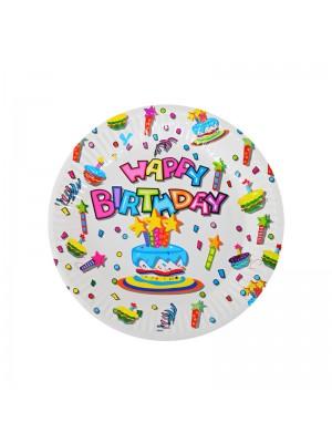 "Парти чинии ""Happy Birthday"" 10 броя"
