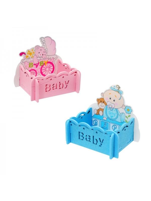 """Дървени кутийки """"Бебе"""""""