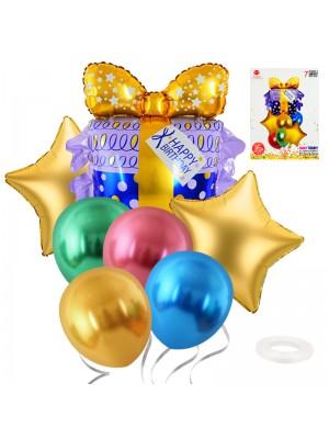 """Комплект балони """"Подарък"""" 7 броя"""