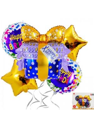 "Комплект балони ""Happy Birthday"" 5 броя"