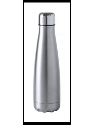 Бутилка, изработена от неръждаема стомана с включено гравиране