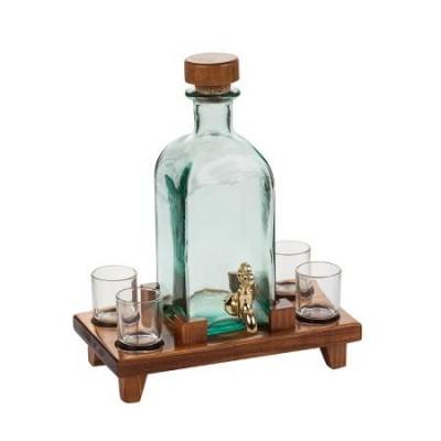 Бутилка с кранче и 4 чаши