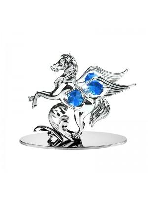 Пегас със синьо камъче
