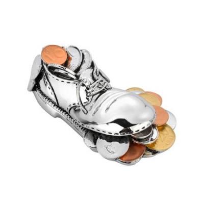 Статуетка обувка с монети 10 см