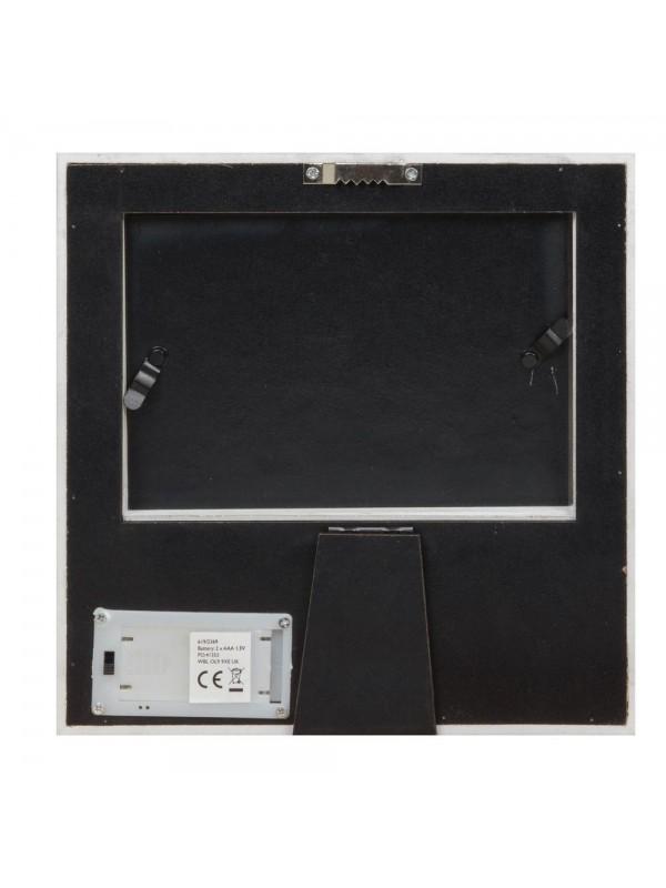 Красива светеща фоторамка за ЕХОГРАФСКА/ВИДЕОЗОН снимка с размер 10x8cm.