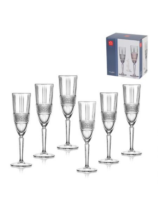 Комплект чаши за шампанско Brillante