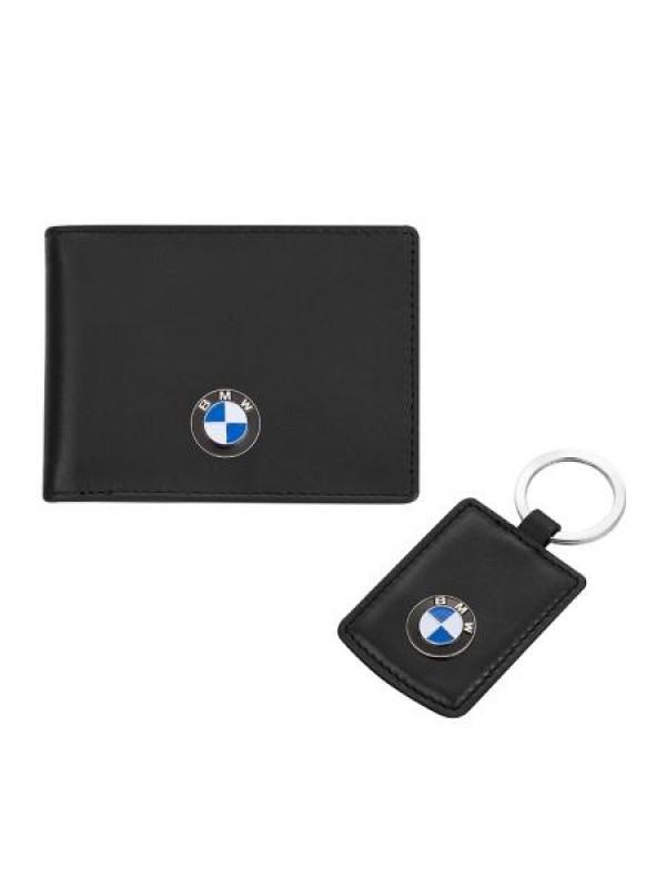 Сет от ключодържател и калъф за документи с логото на BMW