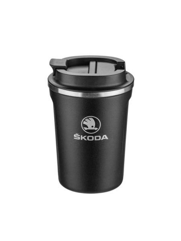 Термо чаша с лого на автомобил