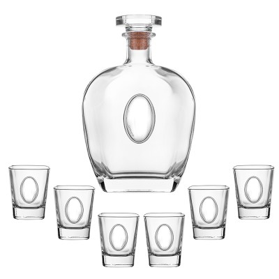 Сет бутилка и 6 чаши за ракия Boticell