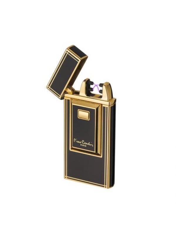 Черна запалка с надпис Pierre Cardin