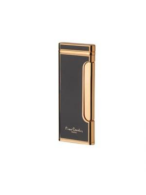 Тънка черно и златно запалка Pierre Cardin