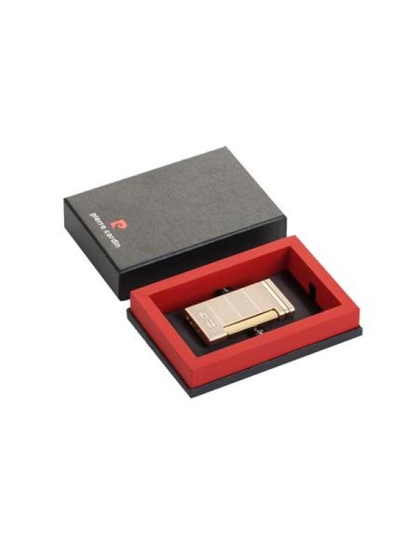 Стилна златна запалка Pierre Cardin