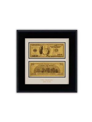 Репродукция долар в рамка