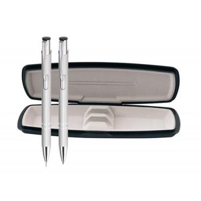 Комплект молив и химикалка в кутия Flash с включено гравиране
