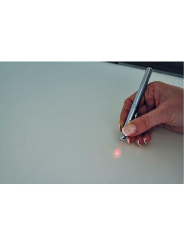 Химикалка с фенерче и лазерна показалка с включено гравиране