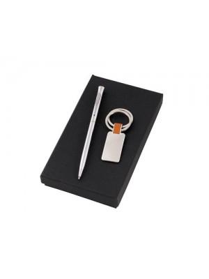 Комплект химикалка и ключодържател с включено гравиране