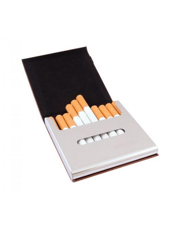 Табакера за 10 броя цигари 90мм с включено гравиране