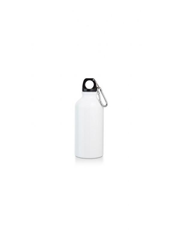 Метална бутилка с карабинка с включено гравиране