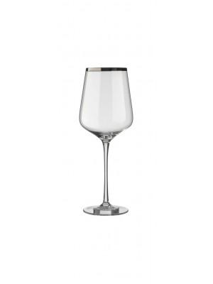 Комплект от 6 кристални чаши за червено вино