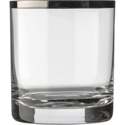 Комплект от 6 кристални чаши за уиски