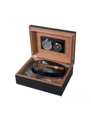 Кутия за пури Хумидор - черна
