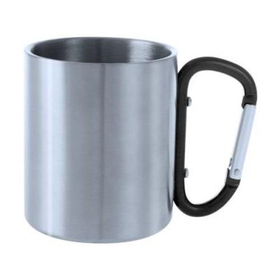 Стоманена чаша с дръжка карабина