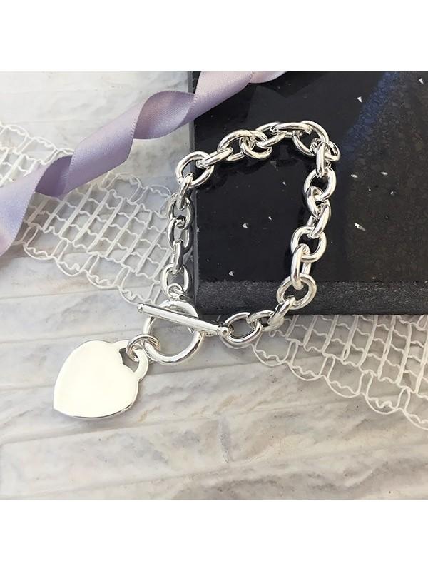 Гривна Arcas с медальон сърце с възможност за гравиране