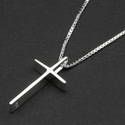 Класически сребърен кръст