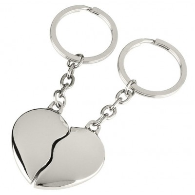 Ключодържател Two Hearts